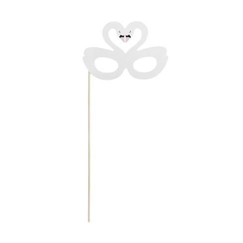 Swan Princess Masquerade Glasses Party Favor - Spritz™ - image 1 of 1