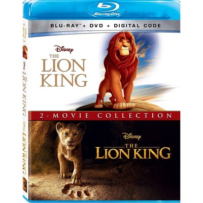 Lion King 2019 + Animated: 2-Movie Collection (Blu-ray + DVD + Digital)