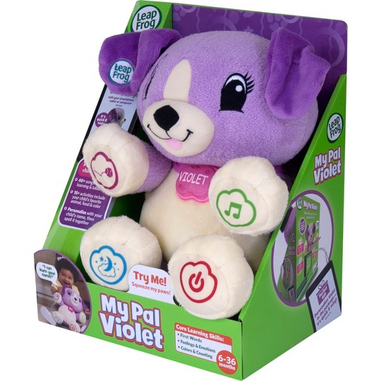 LeapFrog My Pal Violet, baby and toddler learning toys image number null