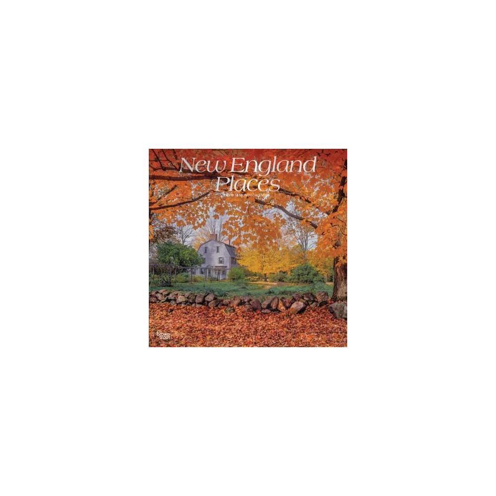 New England Places 2019 Calendar - (Paperback)