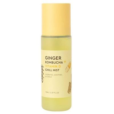 Sweet Chef Ginger Kombucha + Vitamin D Chill Mist   2.37 Fl Oz by 2.37 Fl Oz