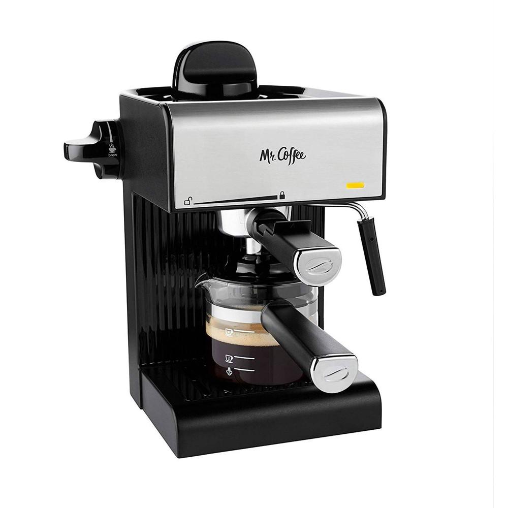 Image of Mr. Coffee Steam Espresso Maker with Starter Set - BVMCECM180
