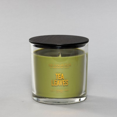 13oz Glass Jar 2-Wick Candle Tea Leaves - The Collection By Chesapeake Bay Candle