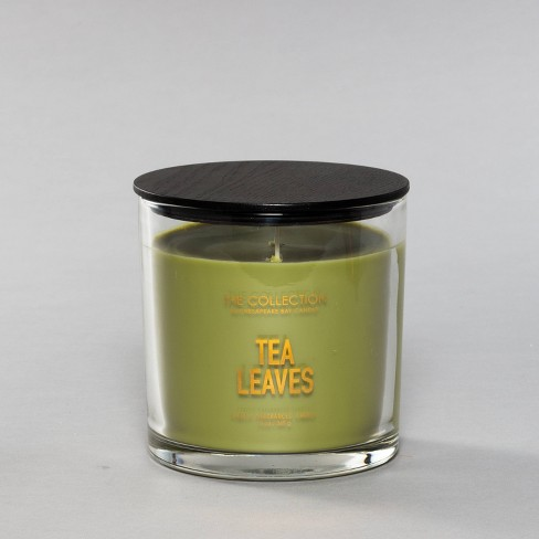 13oz Glass Jar 2-Wick Candle Tea Leaves - The Collection By Chesapeake Bay Candle - image 1 of 3