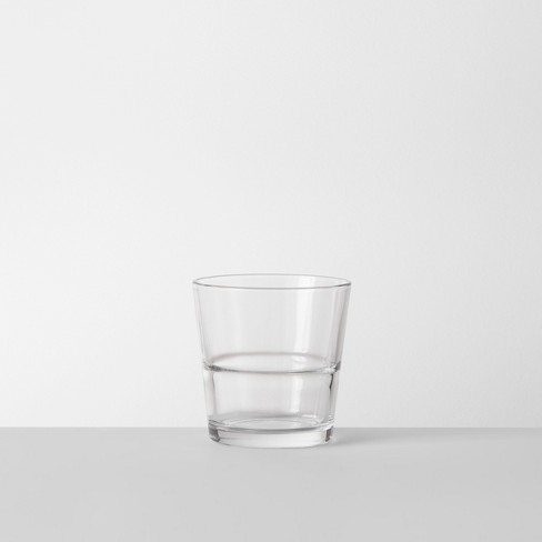 12.9oz Glass Stackable Short Tumbler - Made By Design™ - image 1 of 7