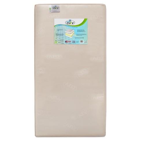 Simmons 174 Kids Curv Memory Foam Comfort Crib Amp Toddler