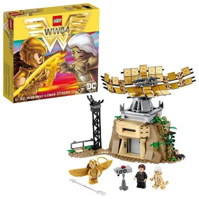 LEGO DC Wonder Woman vs Cheetah Building Kit 76157