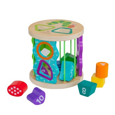 KidKraft World of Eric Carle Roly Poly Shape Sorter
