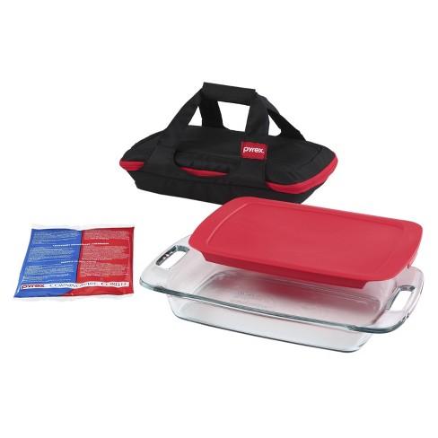 Pyrex 4pc Portables Easy Grab Baking Dish Set - image 1 of 4