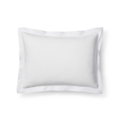 White Diamond Matelasse Sham (King)- Fieldcrest®