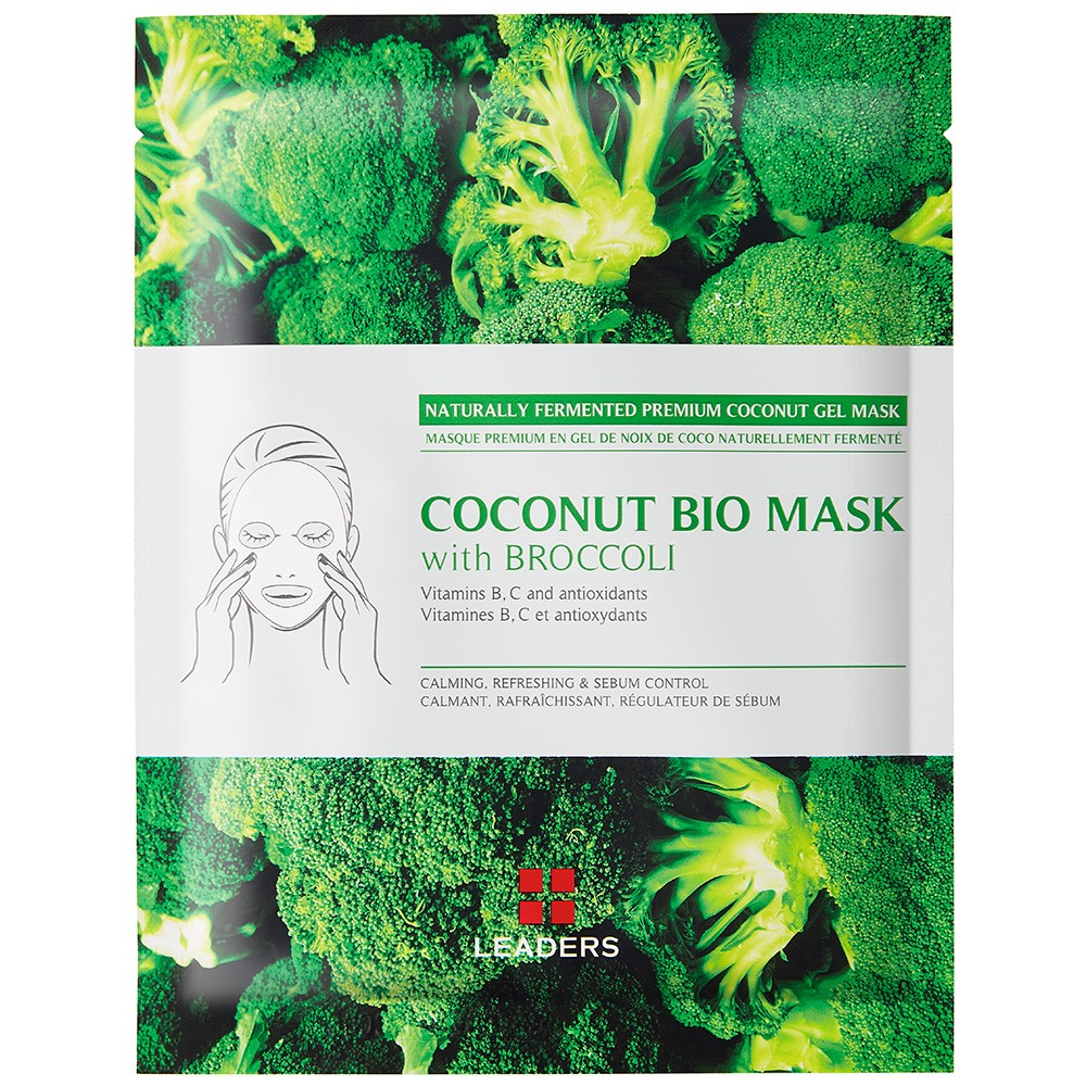 Image of Leaders Coconut Gel Face Mask with Broccoli - 30ml