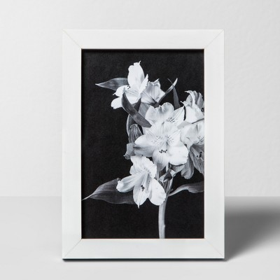 Thin Single Image Frame White 4 x6  - Made By Design™