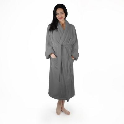 Women's Ultra-Absorbent Cotton Bathrobe - Blue Nile Mills