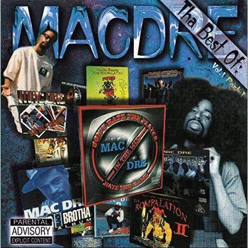 Mac Dre - Tha Best Of Mac Dre: Vol. 1: Part 1 (Vinyl) - image 1 of 1