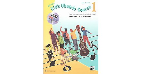 Alfred's Kid's Ukulele Course : The Easiest Ukulele Method Ever!, Includes Downloadable Audio, Video & - image 1 of 1