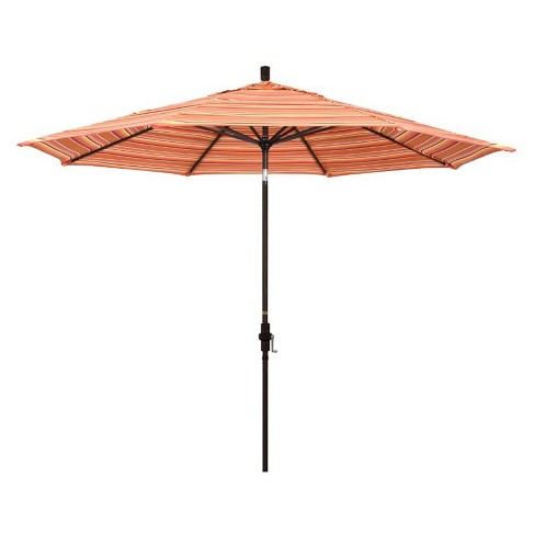 11' Patio Umbrella in Dolce Mango - California Umbrella - image 1 of 2