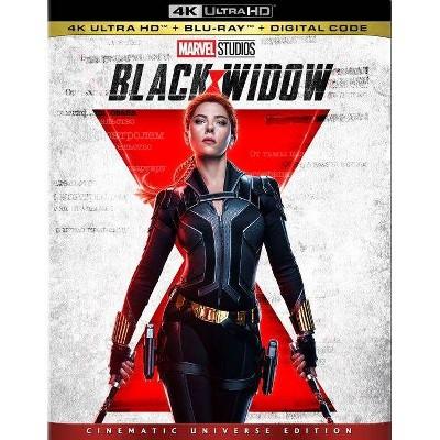 Black Widow (4K/UHD + Blu-ray + Digital)