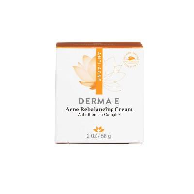 derma e Acne Rebalancing Cream - 2oz