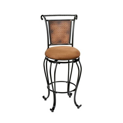 "Milan 26"" Counter Height Barstool Metal/Buckskin -Hillsdale Furniture"