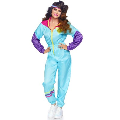 Leg Avenue Women's Totally Awesome 80s Ski Suit Adult Costume