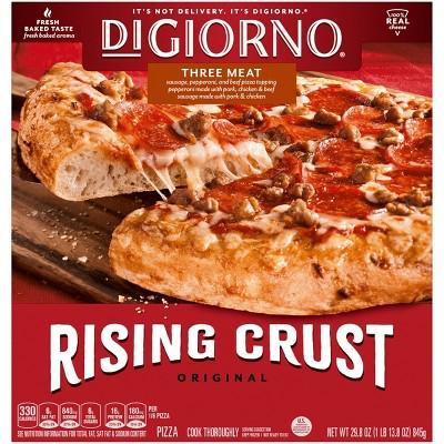 DiGiorno Rising Crust Three Meat Frozen Pizza - 29.8oz