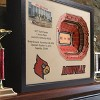 NCAA Louisville Cardinals 25 Layer Stadiumviews 3D Wall Art - image 2 of 4