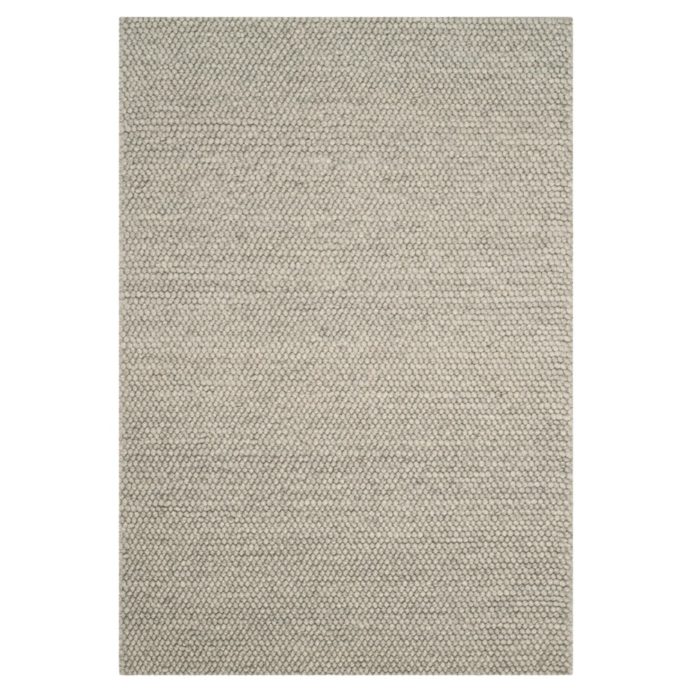 Silver Solid Tufted Area Rug - (4'x6') - Safavieh