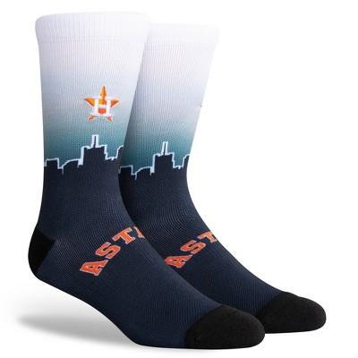 MLB Houston Astros Sky Crew Socks - L