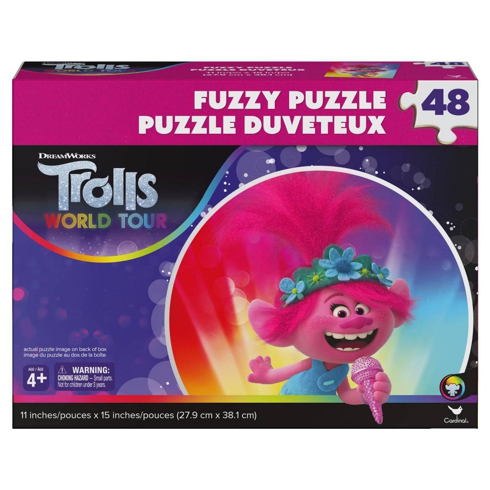 Cardinal Trolls 2 Fuzzy Effect Puzzle 48pc