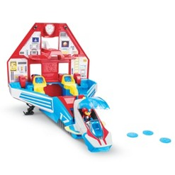 PAW Patrol Super Mighty Pups Transforming Jet Command Center - Ryder