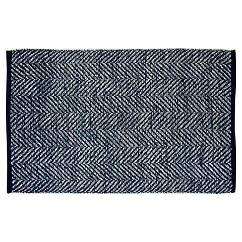 Accent Rug 2'X3' Navy - Threshold™ - image 1 of 1