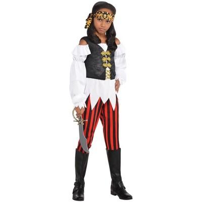 Kids' Pretty Pirate Girl Halloween Costume