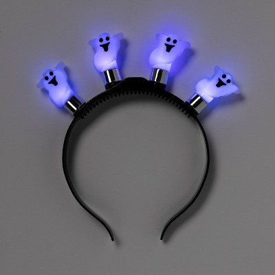 Kids' Ghost Halloween Light Up Headband - Hyde & EEK! Boutique™