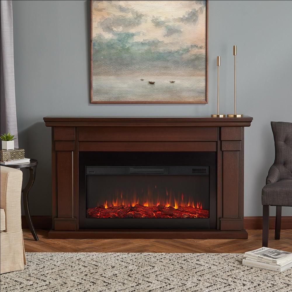 Real Flame Carlisle Electric Decorative Fireplace Dark Brown