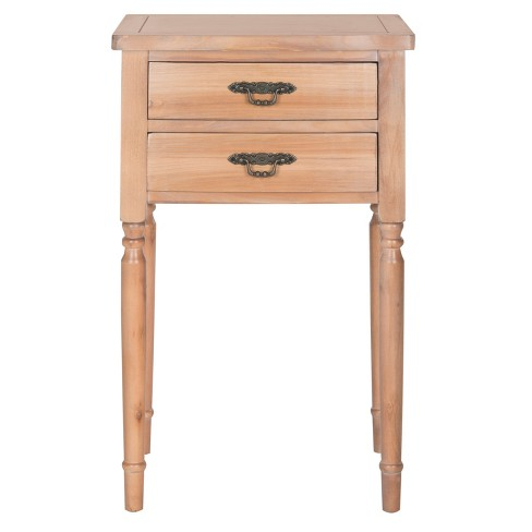 Marilyn End Table Natural - Safavieh® - image 1 of 3