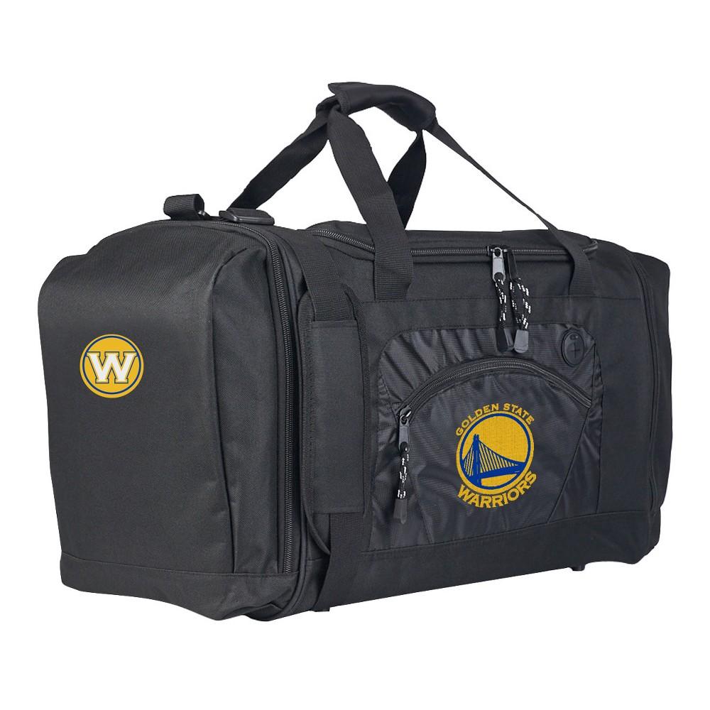 NBA Golden State Warriors 20 Roadblock Duffel Bag - Black