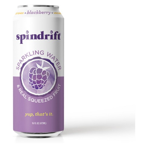 Spindrift Blackberry Sparkling Water - 16 fl oz Can - image 1 of 1