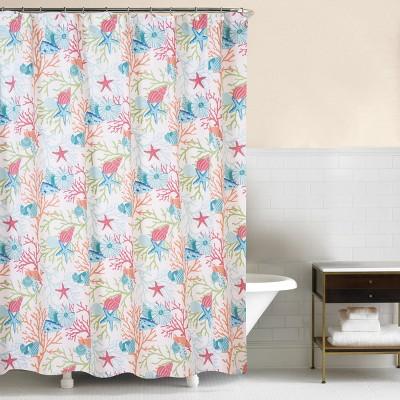C&F Home Caribbean Splash Shower Curtain