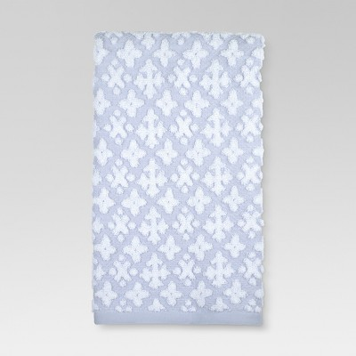 Cross Hand Towels Blue - Threshold™