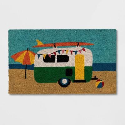 "1'6""x2'6"" Beach Camper Doormat Natural - Sun Squad™"