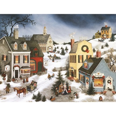 18ct Caroling in the Village Holiday Boxed Cards