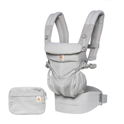 Ergobaby Omni 360 All Carry Positions Ergonomic Baby Carrier- Pearl Gray