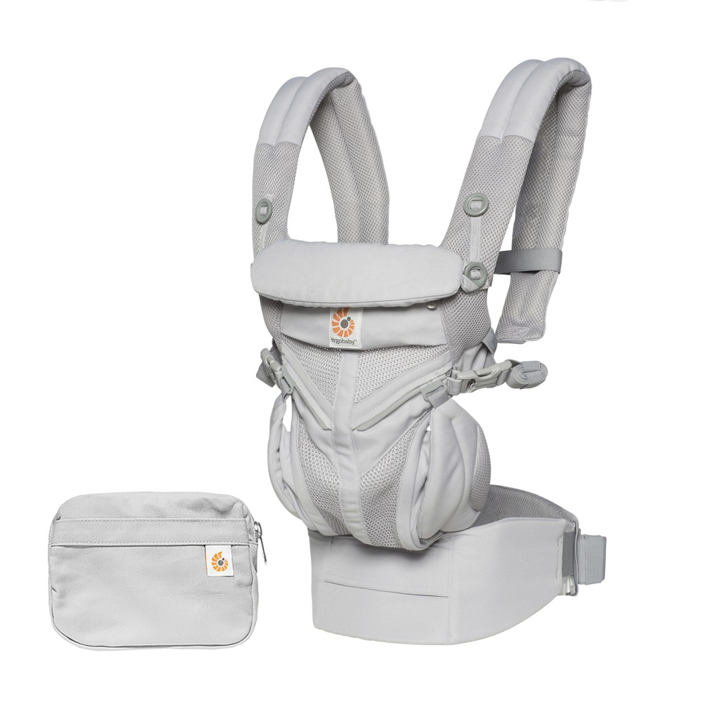 Ergobaby Omni 360 Cool Air Mesh All Carry Positions Baby Carrier - Pearl Gray