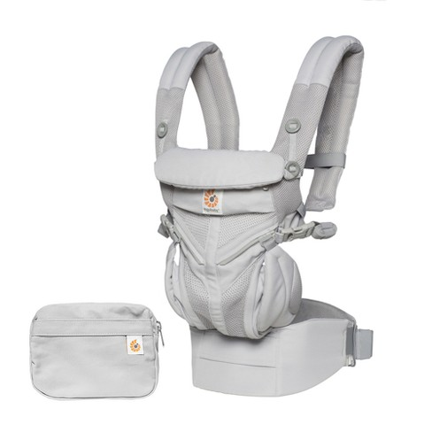 Ergobaby Omni 360 Cool Air Mesh All Carry Positions Baby Carrier - Pearl Gray - image 1 of 5