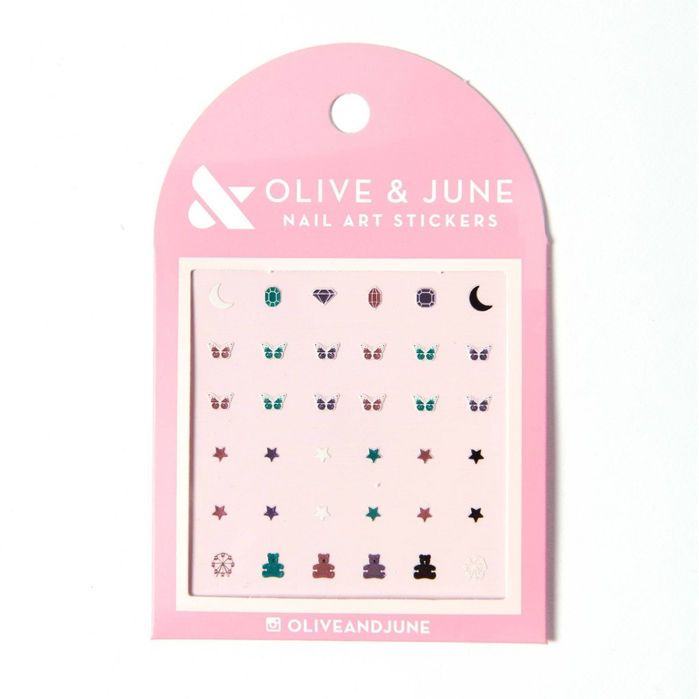 Image of Olive & June Nail Art Stickers - Butterfly Fantasy