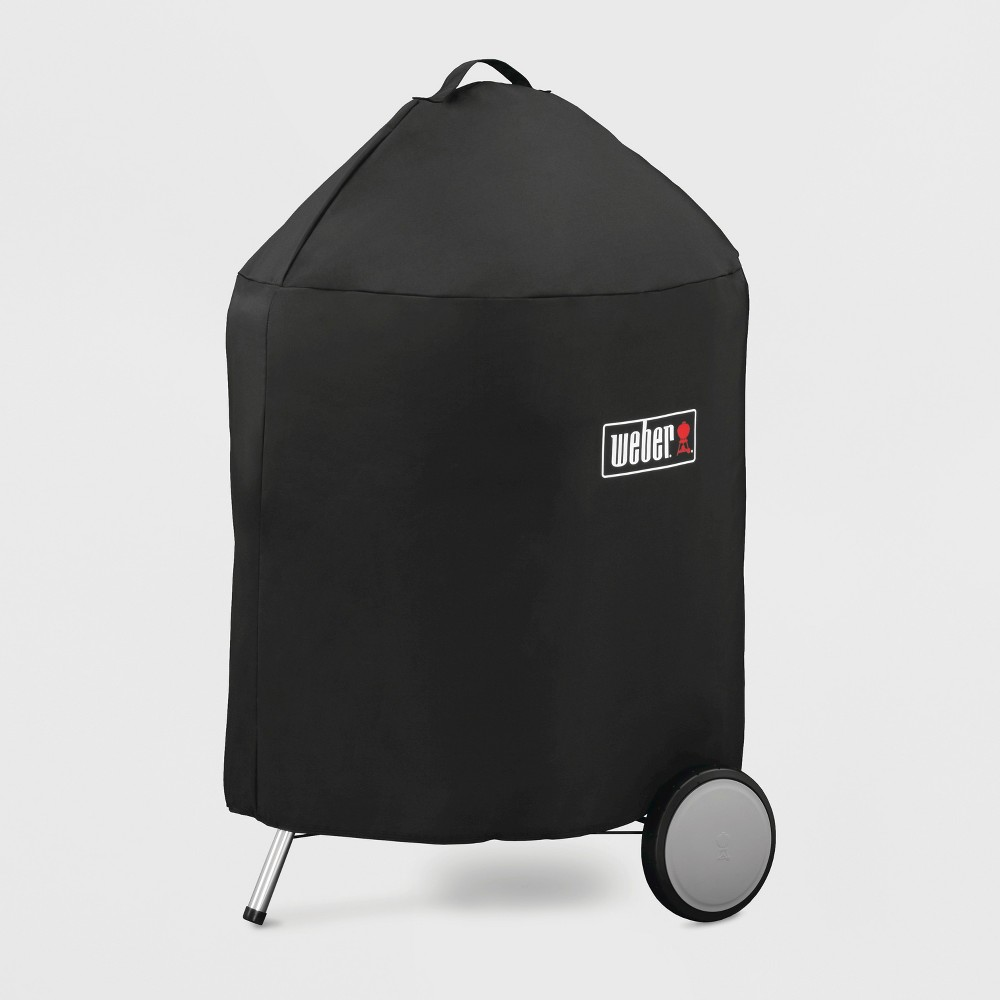Weber 22Charcoal Premium Grill Cover- Black 52062203
