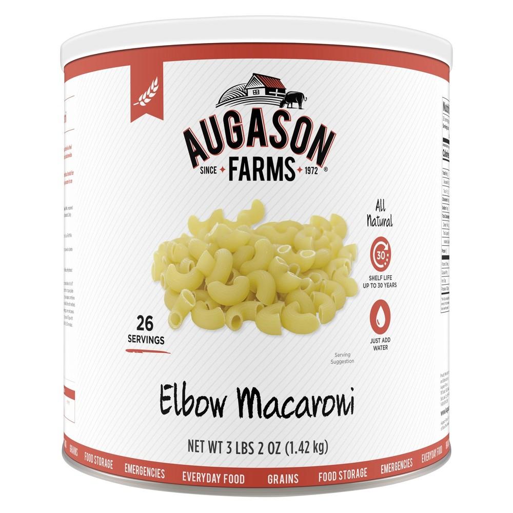 Augason Farms Elbow Macaroni Pasta Emergency Food - 50oz