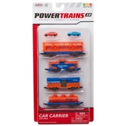 Power Trains Car Carrier Car Pack