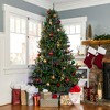 Best Choice Products 7.5ft Pre-Lit Hinged Artificial Fir Christmas Tree w/ 700 LED Lights, 7 Light Sequences - image 2 of 4