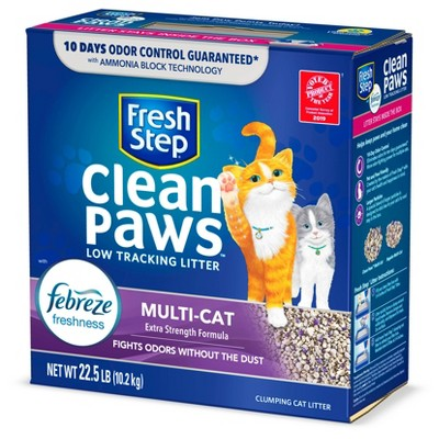 Cat Litter: Fresh Step Clean Paws Multi-Cat